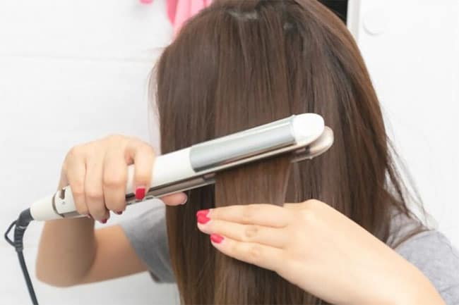 9 Common Mistakes People Make When Straightening Hair